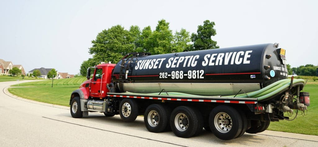 sunset-septic-pump-truck-parked-in-residential-area